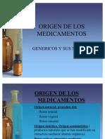 Origen de Los Medicamentos Segunda Clase 23-07-2011