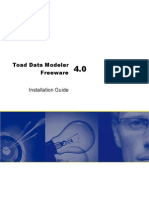 Toad Data Modeler 4.0.6.15 Freeware Installation Guide