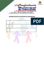 PLANILHA DE SISTEMATIZAÇÃO DASPROPOSTAS VENCEDORAS