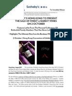 Eng_2 Oct_Sotheby's HK_Finest & Rarest Wines