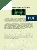 Reiniciando el Sistema (Dorian Zapata)