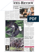 Vilas County News-Review, Aug. 31, 2011