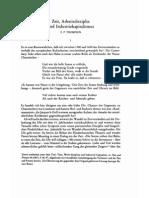 E. P. Thompson - Zeit, Arbeitsdisziplin und Industriekapitalismus