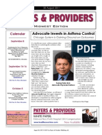 Payers & Providers Midwest Edition – Issue of August 30, 2011