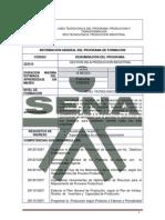 Tecnologo en Gestion de La Produccion Industrial _223310