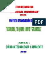 innovac Luzuriaga Te q s, l y s 2010