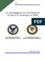 DOJ Report