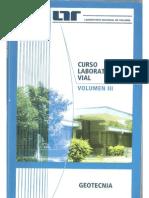 Curso Laboratorista Vial Volumen III