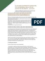 Conferenza Stampa Di Presentazione Del Decreto Di Riforma Degli Studi Ecclesiastici Di Filosofia