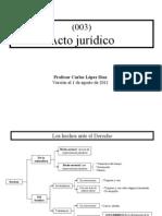 (003) Acto juridico