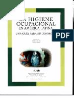 La Higiene Ocupacional en América Latina. Una Gua para su Desarrollo