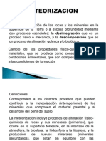 Meteorizacion Presentacion Clase Maestria