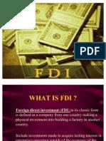 FDI India+Presntatn