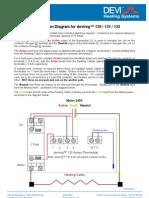 BROCDEV401 1 - Contactor Connection Diagram for 130 Series