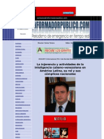 Articulo de Ivan Velazquez 20 Abril 2011www-Informadorpublico-com
