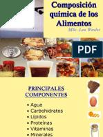 Componentes de los alimentos y su función 2-2011