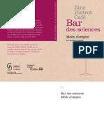 Zinc Bistrot café - Bar des sciences