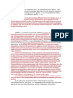 Impact Statement Draft 3