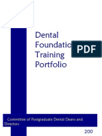 Dental Foundation Programme Year 2