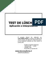Manual Luscher