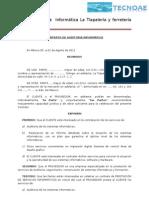CONTRATO DE AUDITORIA INFORMÁTICA