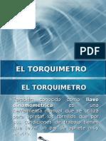 El torquímetro