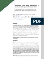 A Modelagem como Fator Determinante na Transformação do Proj