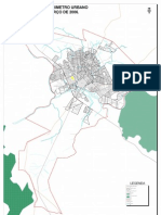 Mapa Do Perimetro Urbano - is - Mt