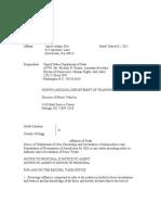 Affidavit of Truth Sovereign Declaration Male James Adam Doe (2)