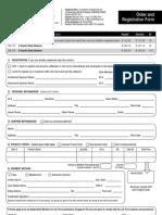 Singapore Order Form