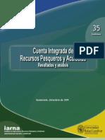 Cuenta Integrada Recursos Pesqueros y Acuícolas