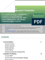 Account Management Templates