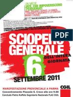 SCIOPERO 6 SETTEMBRE