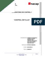 Labotatorio de Control de Flujo[1]