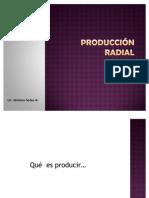 PRODUCCIÓN RADIAL, Repaso