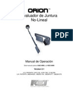 ORION Spanish Manual