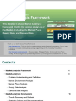 Market Analysis Framework