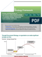 Strategic Sourcing Procurement Strategy