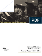 2010-2011 Medical Education Annual Report