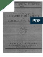 Guerrilla Type Actions Bibliographioes