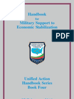 Handbook for Military Support to Economic Stabilization, Unified Action Handbook Series Book Four, 27 February 2010