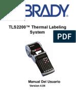 TLS2200 Manual