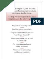 ACTIVITY DAYS - Faith in God for Girls