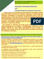 Texto Docência, EJA Contemporânea - Nelton Dresh - 31 de agosto