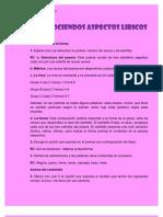 RECONOCIENDOS ASPECTOS LIRICOS