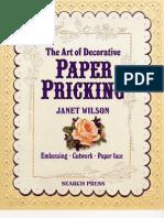 Paper Pricking