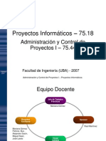 01 Introduccion a La Admin is Trac Ion de Proyectos v7
