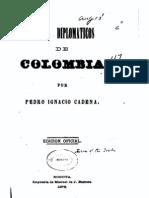 Cadena, Anales Diploma Ti Cos Colombia (1878)