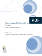 A Case Study on Mobile Medics Healthcare