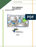 Diagnostico a 7basico Unidad2-2009